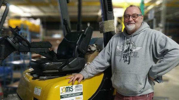 Portrait de salarié : Patrick, magasinier cariste