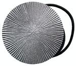 Les Embrases Magnet   SOLEDAD NICKEL MAT   (Lot de 2)